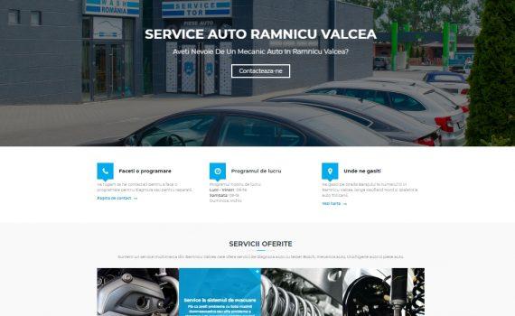service auto valcea site