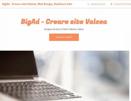Creati pagina web din Google My Business – Noi am optat pentru Web Design Valcea