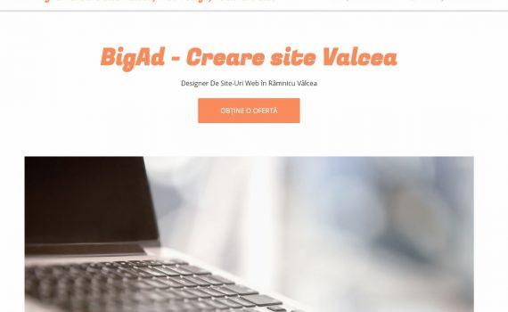 creare site valcea bigad