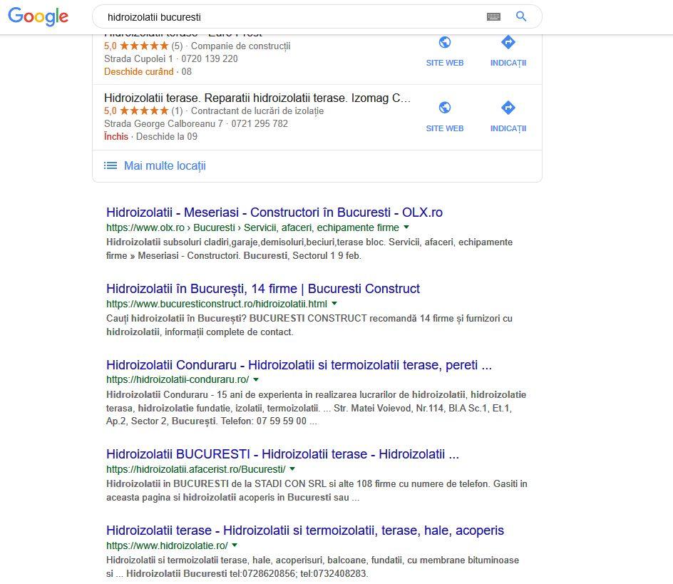 hidroizolatii Bucuresti