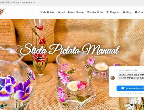 Magazin online pentru obiecte lucrate manual