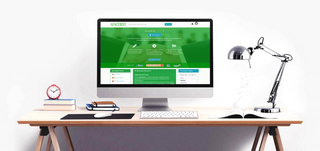 birou agentie publicitate Afacerist.ro pe desktop