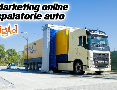 Marketing online pentru spalatoria Circuit Express din Ramnicu Valcea