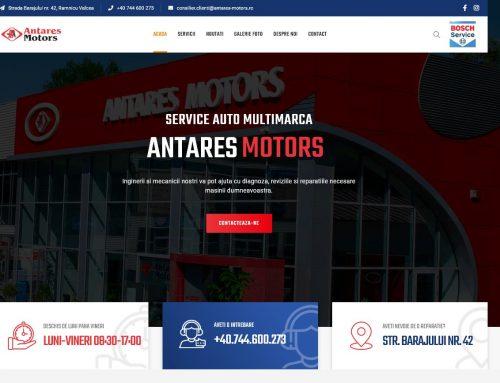 Constructie site service auto Antares Motors
