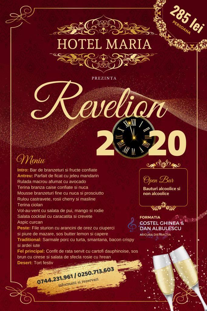 Hotel Maria Ramnicu Valcea petrecere revelion 2020