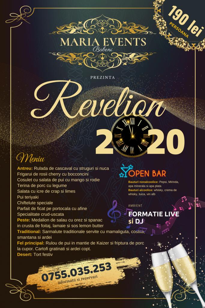 Maria Events Babeni petrecere revelion 2020