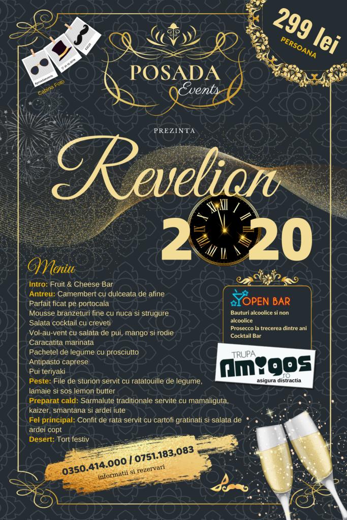 Posada Events Ramnicu Valcea petrecere revelion 2020