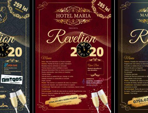 Postere promovare petrecere revelion